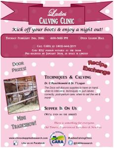 Ladies Calving Clinic